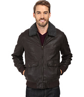 Dockers - Two-Pocket Laydown Collar Aviator Bomber w/ Removable Sherpa Collar