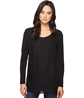 HEATHER - Long Sleeve Silk Layered Slouchy Top