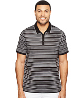 Calvin Klein - Short Sleeve Textured Stripe Polo Shirt