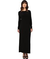KAMALIKULTURE by Norma Kamali - Long Sleeve Crew Gown