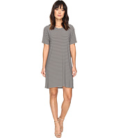 KAMALIKULTURE by Norma Kamali - Short Sleeve Boxy Dress To Knee