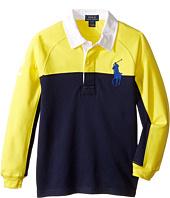 Polo Ralph Lauren Kids - Jersey Raglan Rugby (Little Kids/Big Kids)
