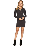 Culture Phit - Lahela Lace-Up Sweater Dress