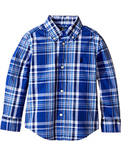 Polo Ralph Lauren Kids - Yarn-Dyed Poplin Long Sleeve Shirt (Toddler)