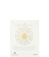 Dogeared - Gratitude Mandala Center Flower Necklace