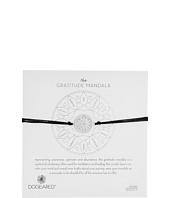 Dogeared - Gratitude Mandala Center Flower Silk Bracelet