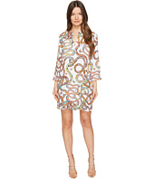 Just Cavalli - Obsession Wonders Long Sleeve Shift Dress