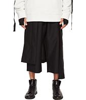 D.GNAK - Asymmetric Skirt Layered Pants