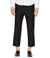 D.GNAK - Oblique Zip Pants