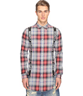 Mostly Heard Rarely Seen - Suspender Runner Plaid Shirt