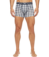 Emporio Armani - Eagle Check Stretch Cotton Boxer Brief