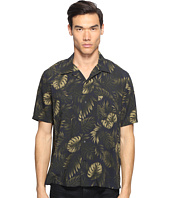 Vince - Short Sleeve Palm Printed Cabana Shirt
