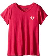 True Religion Kids - Branded Logo T-Shirt (Toddler/Little Kids)