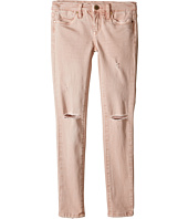 Blank NYC Kids - Blush Pink Ripped Denim Skinny in Don't Blink Pink (Big Kids)