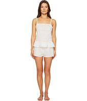 Kate Spade New York - Clipped Swiss Dot Short PJ Set