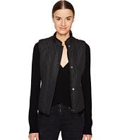 BELSTAFF - Westwell Lightweight Technical Quilt Vest w/ Faux Fur Lining