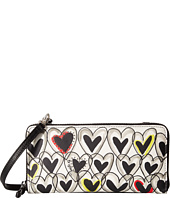 Brighton - Graffiti Large Zip Wallet