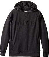 Lucky Brand Kids - Pullover Hoodie with Lucky Chest Logo (Big Kids)