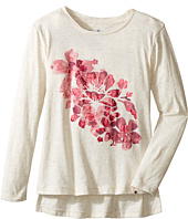 Lucky Brand Kids - Pullover Tee with Floral Screen Print (Little Kids)