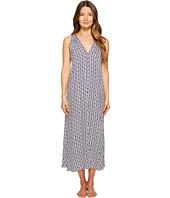 Oscar de la Renta Pink Label - Diamond Ikat Print Long Gown