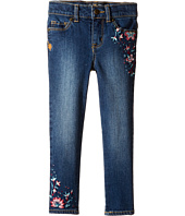 Lucky Brand Kids - Zoe Jeans with Embroidery in Blue Wash (Toddler)
