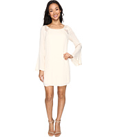 Brigitte Bailey - Rowan Long Sleeve Dress with Lace Detail