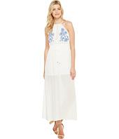 Brigitte Bailey - Samara Halter Maxi Dress with Embroidery