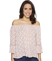 Brigitte Bailey - Mae Off the Shoulder Top with Lace Inset
