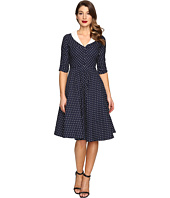 Unique Vintage - 1950s Style Eva Marie Swing Dress
