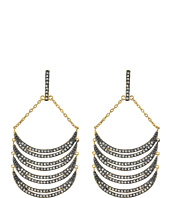 Rebecca Minkoff - Curve Chandelier Earrings
