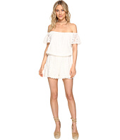 Jack by BB Dakota - Liam Lace Off Shoulder Romper