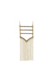 Rebecca Minkoff - Pave + Fringe Pendant Necklace