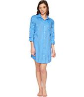 LAUREN Ralph Lauren - Cotton Rayon Lawn 3/4 Sleeve Sleepshirt