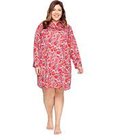 LAUREN Ralph Lauren - Plus Size Sateen Sleepshirt