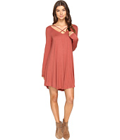 Culture Phit - Mille Long Sleeve Dress with Strap Detail