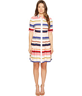 Kate Spade New York - Spice Things Up Berber Stripe Shirtdress