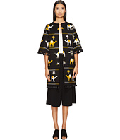 Kate Spade New York - Spice Things Up Embroidered Camel Coat
