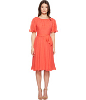 Kate Spade New York - Spice Things Up Clipped Chiffon Dress