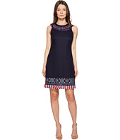 Kate Spade New York - Full Plume Embroidered Tassel Dress