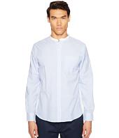 Todd Snyder - Bengal Stripe White Band Collar Shirt