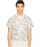 Todd Snyder + Champion - Camo Short Sleeve Sweatshirt