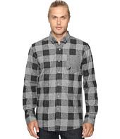 Staple - Check Fishtail Flannel Shirt