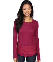 Lucky Brand - Lace Mix Sweater