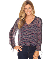 Lucky Brand - Beaded Trim Blouse