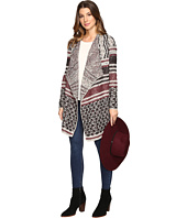 Lucky Brand - Mixed Striped Cardigan