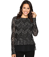 Lucky Brand - Chevron Shine Sweater