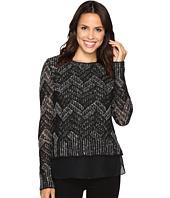 Lucky Brand - Chevron Shine Sweater