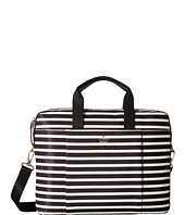 Kate Spade New York - Stripe Nylon Laptop Bag Laptop Case