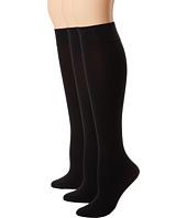 HUE - Soft Opaque Knee High 3-Pack