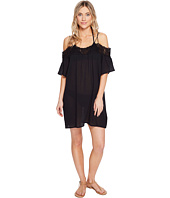 La Blanca - Island Goddess Off The Shoulder Dress Cover-Up